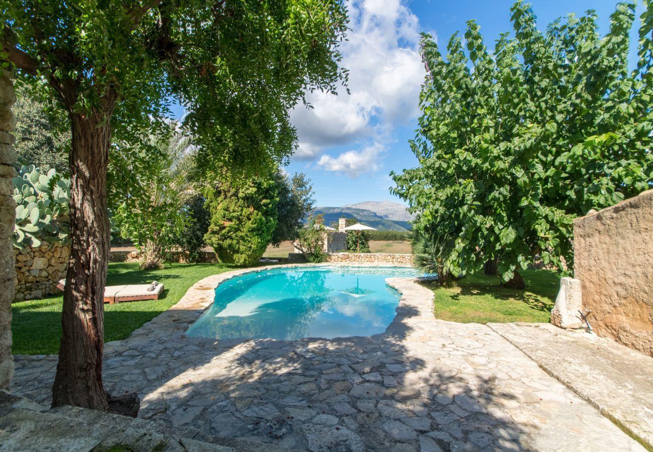 5 DSZ, 5 BZ, Extrabetten, Klimaanlage, Kamin, gratis Wifi-Internet, Traumgarten mit grossem Pool und toller Grillzone