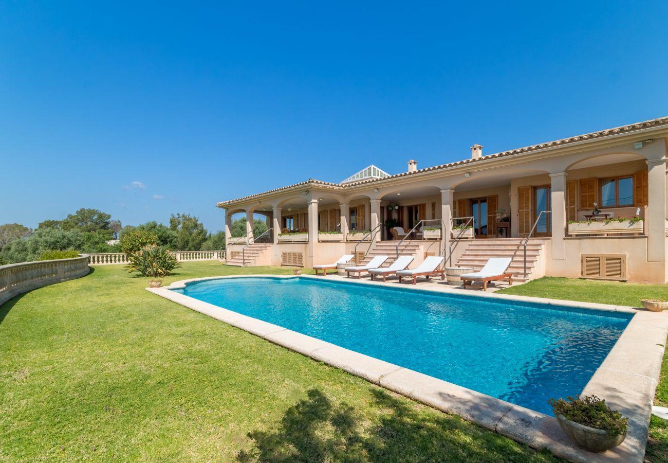 Chalet in Sa Cabaneta - Vista Mar y Tierra, Villa 5StarsHome Mallorca