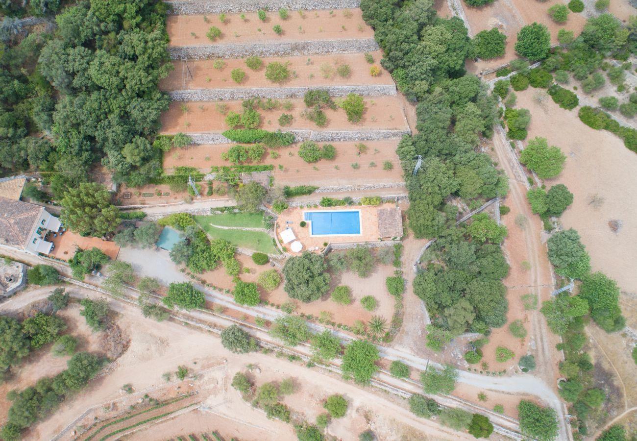 Landhaus in Esporlas - Aire Can Pieres, Finca 5StarsHome Mallorca